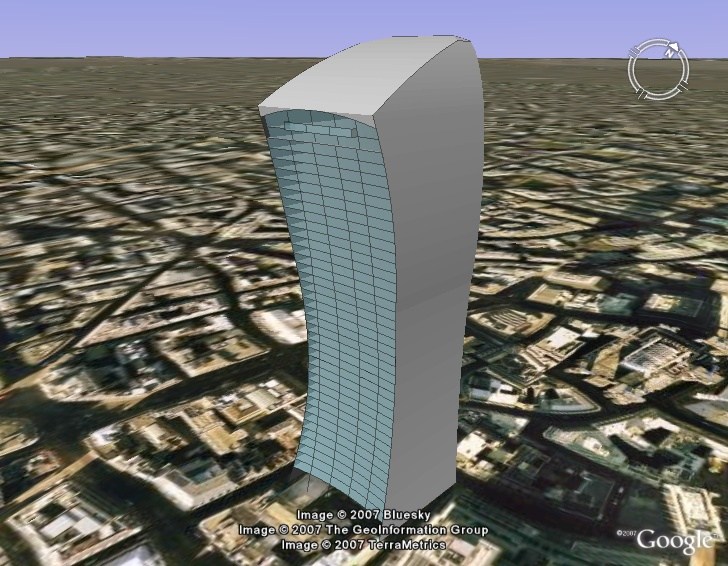 how to add 3d building to google earth