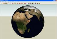 Textured Globe in SketchUp