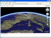 Low Cost Airline Flight Maps in GE Browser Plugin