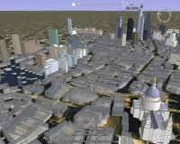 City of London, 3D Model in Google Earth
