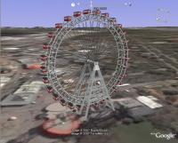 Vienna Ferris Wheel, Google Earth Animation