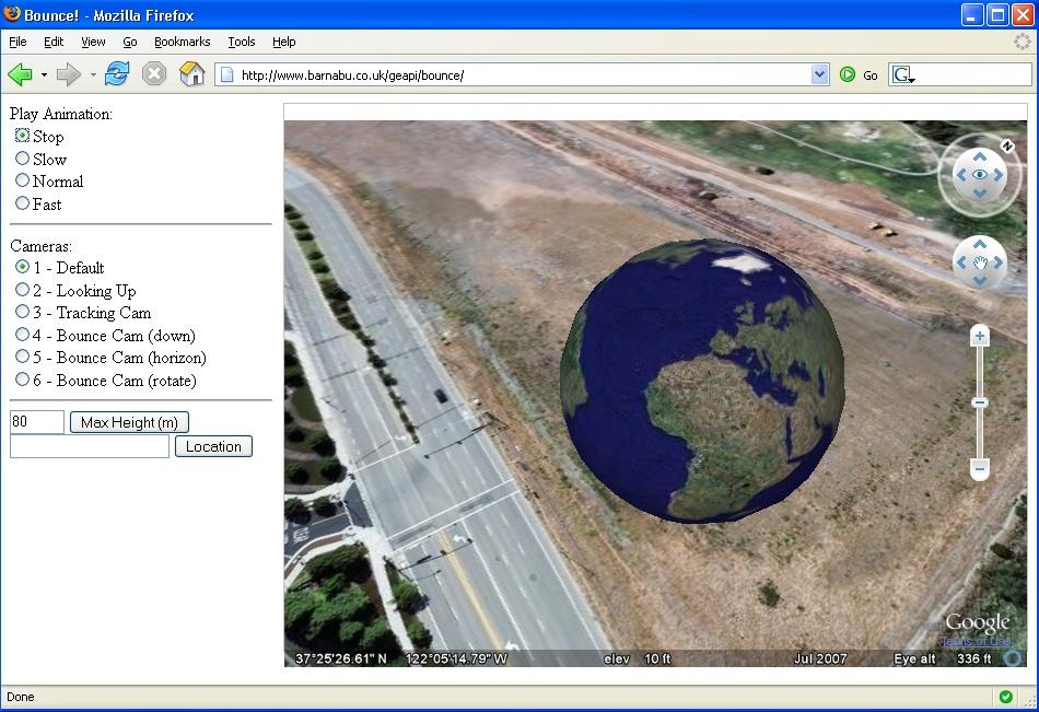 Google earth visualizationgoogle earth in google earth in a browser animated google earth in google earth in a browser sciox Images