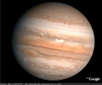 Jupiter in Google Sky