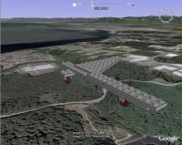 Animated Lego Model in Google Earth