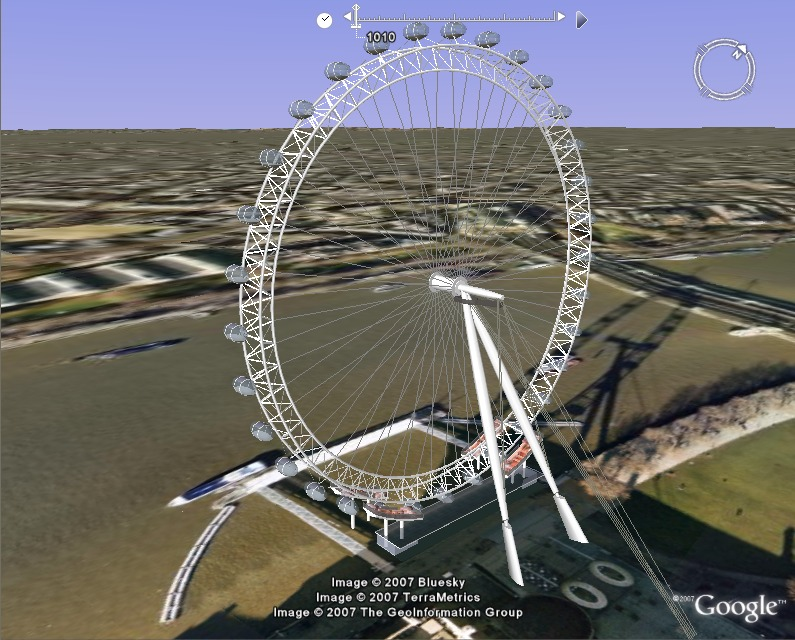 london eye. London Eye observation