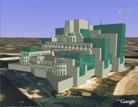 MI6 Building, 3D SketchUp Model, Google Earth