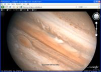 Browser based planetarium