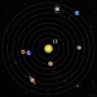 Orrery in GoogleSky