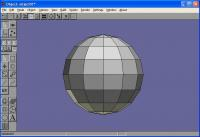 Anim8or Basic Sphere
