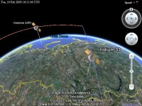 Space Crash! Google Earth Plugin