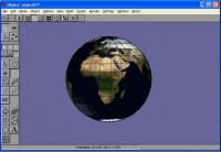 Anim8or Textured Globe